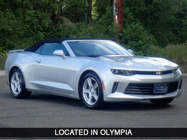 Pre Owned 2018 Chevrolet Camaro 1lt Rwd 2d Convertible