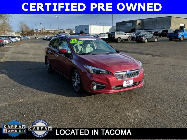 Certified Pre-Owned 2019 Subaru Impreza 2.0i Limited