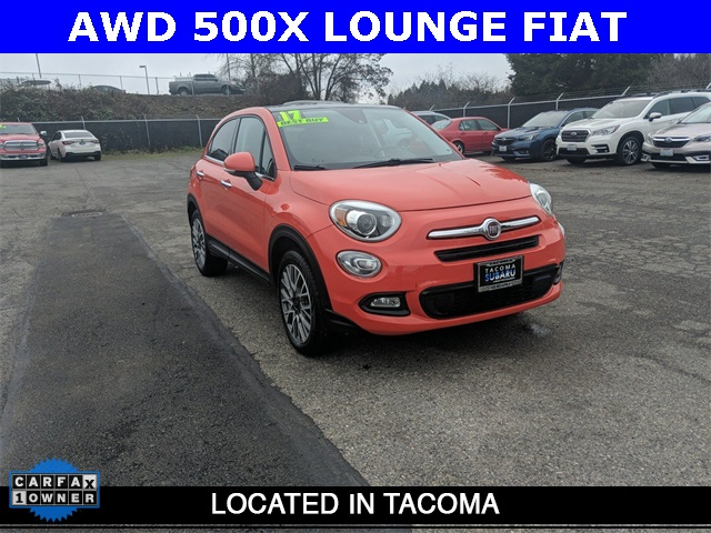 Pre-Owned 2017 FIAT 500X Lounge