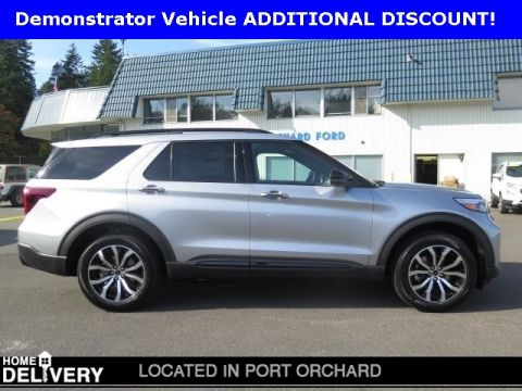 New 2020 Ford Explorer ST With Navigation & AWD