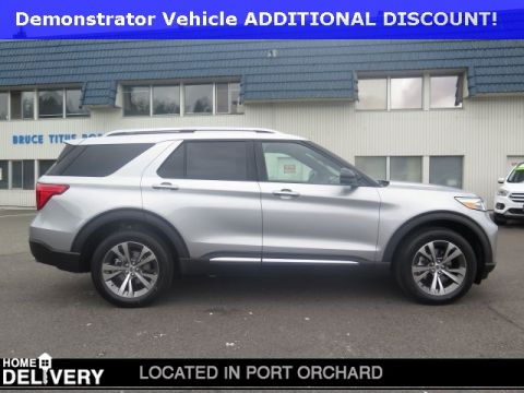 New 2020 Ford Explorer Platinum With Navigation & AWD