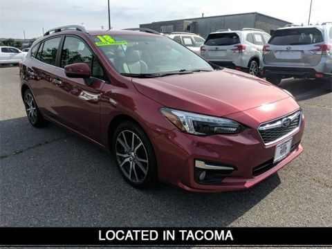 Certified Pre-Owned 2018 Subaru Impreza 2.0i Limited With Navigation & AWD