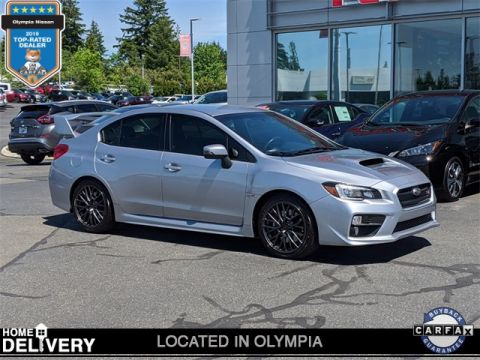 Pre-Owned 2017 Subaru WRX STi With Navigation & AWD